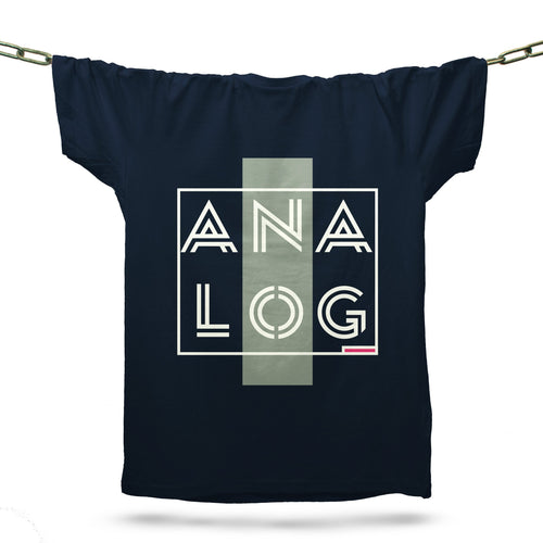 Analog T-Shirt / Navy - Future Past Clothing