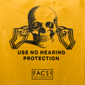 Official Hacienda FAC51 Collaboration (2) T-Shirt / Gold - Future Past Clothing