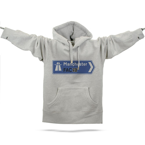 Official Hacienda FAC51 Collaboration Hoodie - Future Past Clothing