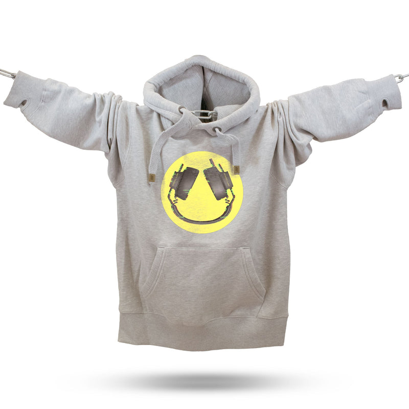 Headphone Smiler Premium Hoodie - Future Past Clothing