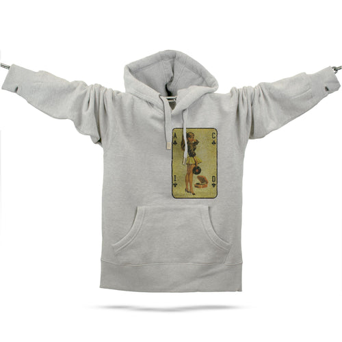 Acid House Pinup Girl Premium Hoodie - Future Past Clothing