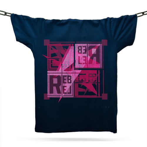 House Rebel T-Shirt / Navy - Future Past Clothing