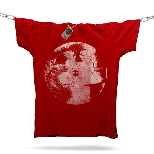 Futurista Lust T-Shirt / Red - Future Past Clothing