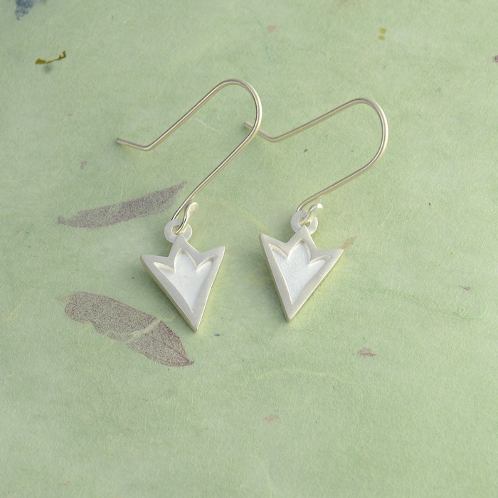Ithuriel's Spear Sterling Silver Earrings