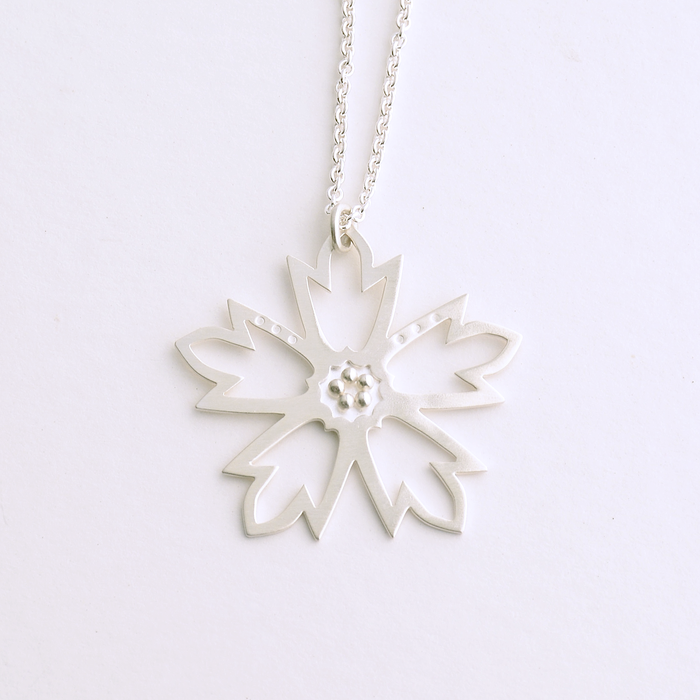 Woodland Star Sterling Silver Necklace
