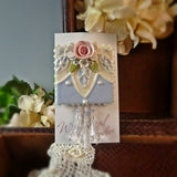 Marvelous Lace on Blue Pin