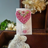 Embellished Heart Pin
