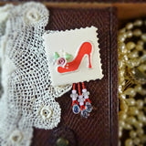 Red Shoe Pin