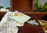 Magnificent Lace and Rose Pin