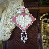 Lace Heart Pin
