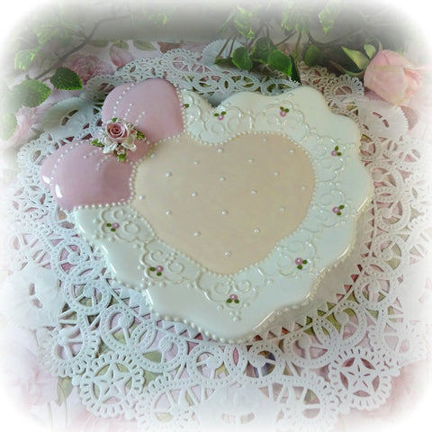 Heart and Ruffles Plate