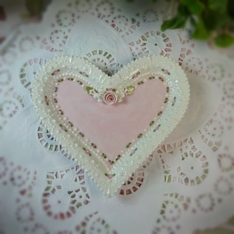 Pink Sweetheart Plate