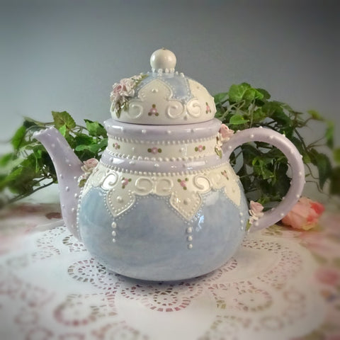 Fairy Lace Teapot