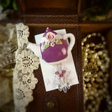 Mulberry Teapot Pin