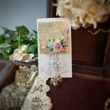 Soft Morning Sunshine Watercolor Rose Pin