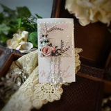Wispy Watercolor Rose Pin