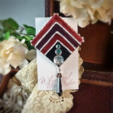 Art Deco Chevron Pin