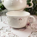 Elegant Lace Tea-For-One