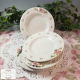 Lace Sweet Treats Plates - set of 4