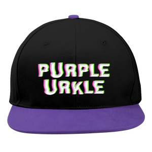 Purple Urkel Snapback