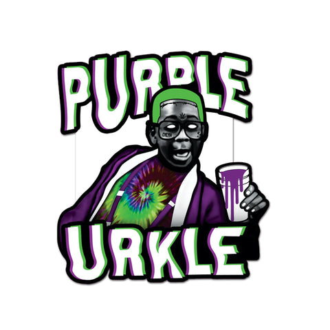 Purple Urkel Sticker