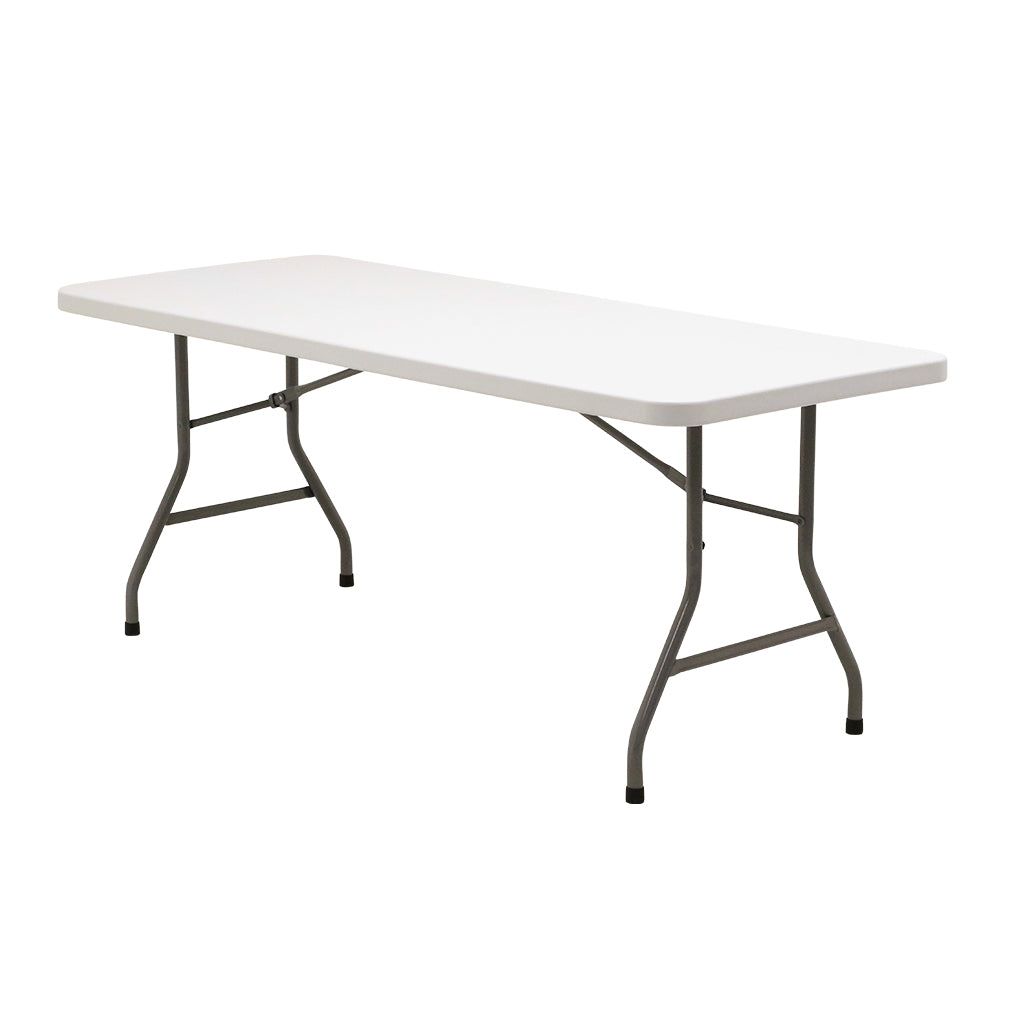 "Titan Blow Molded 30""x72"" Rectangular Folding Table"
