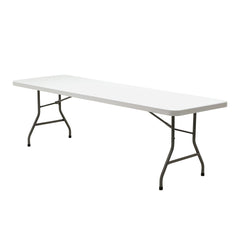 "Titan Blow Molded 30""x96"" Rectangular Folding Table"