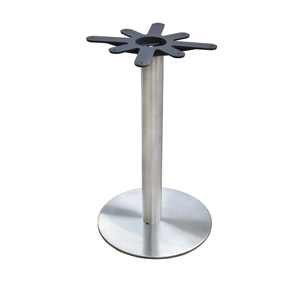 "18"" Round Table Base - Round Column - 30"" Height"
