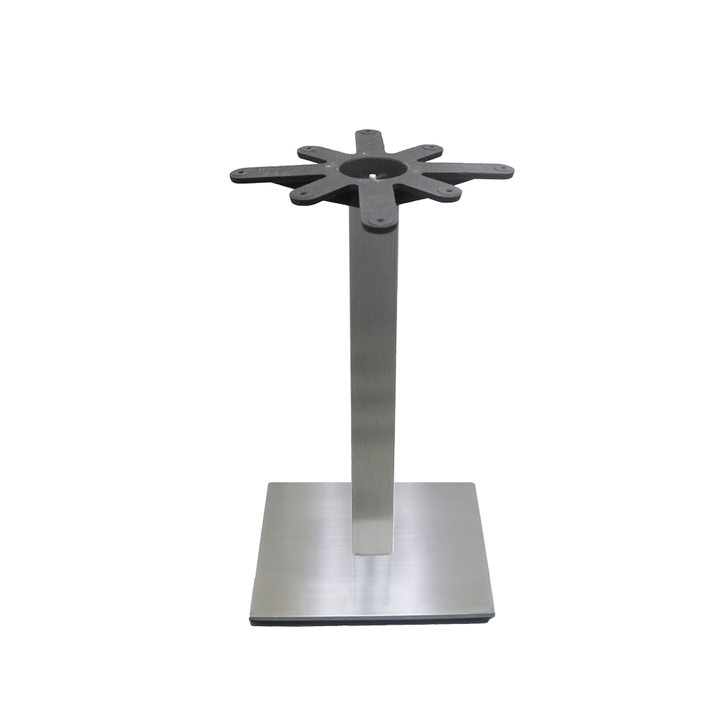 "18"" Table Base - Square Column - 30"" Height"