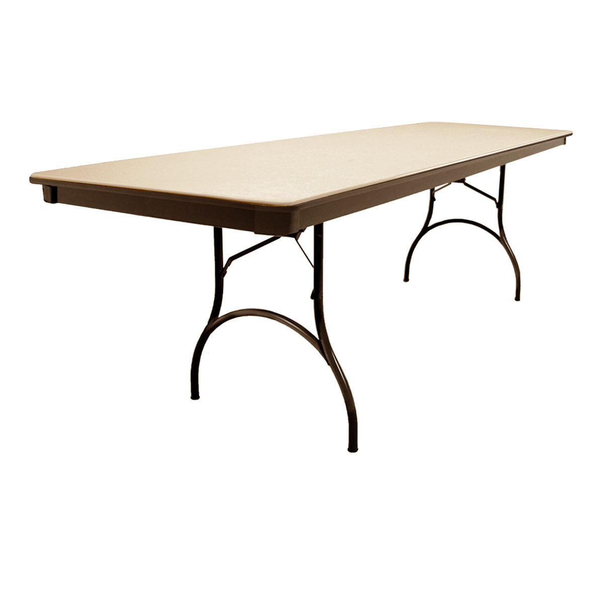 "MityLite ABS Plastic 30""x96"" Folding Table - Beige"