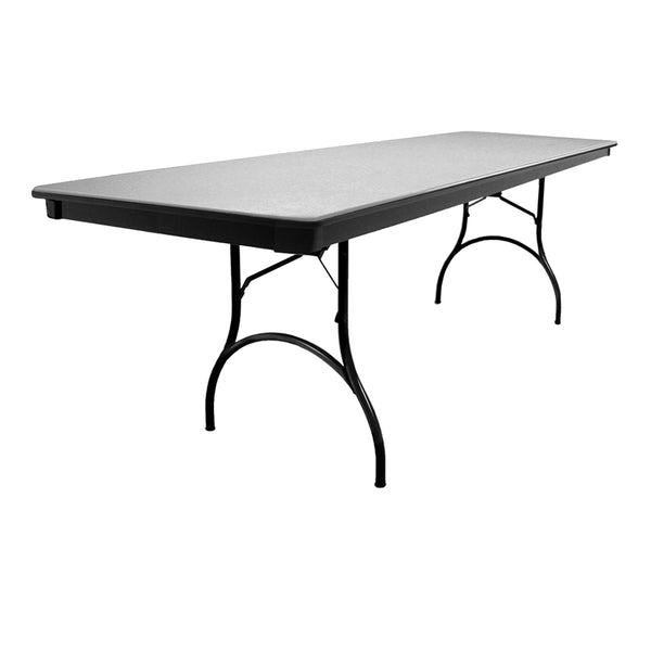 "MityLite ABS Plastic 30""x96"" Folding Table - Gray"