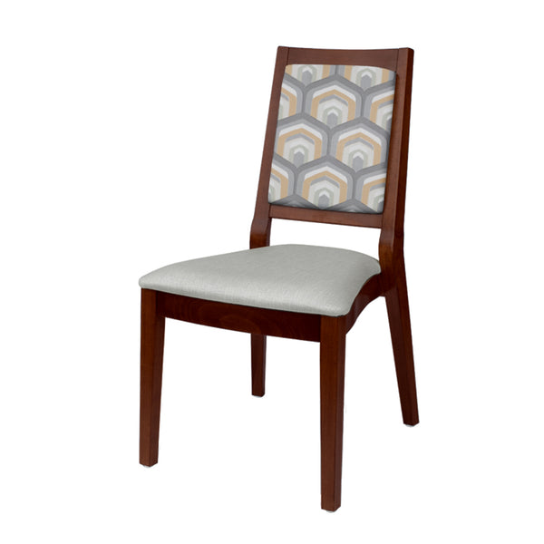 Hera Side Chair (Mahogany)