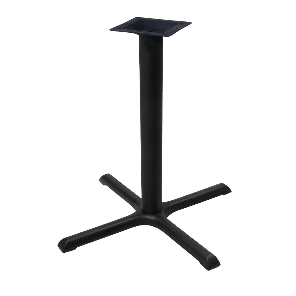 "30"" Table X Base - 30"" Height - Powder-Coated Steel"