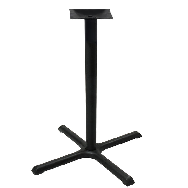 "30"" Table X Base - 42"" Height - Powder-Coated Steel"