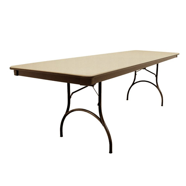 "MityLite ABS Plastic 30""x96"" Folding Table"