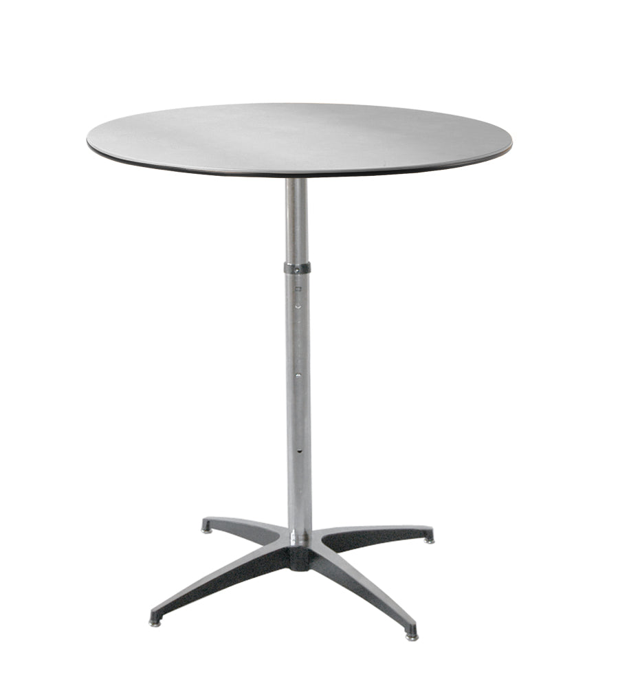 MityLite ABS Plastic Cocktail Adjustable Height Table Atlas Lane - Adjustable height cocktail table