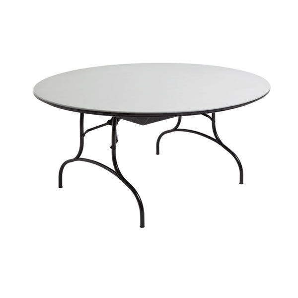 "MityLite ABS Plastic 60"" Folding Table - Speckled Gray"