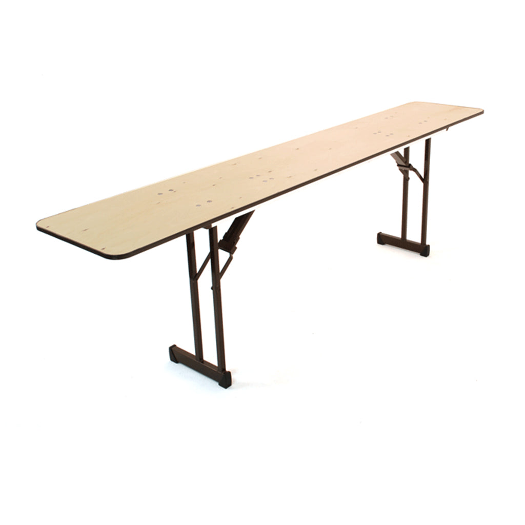 "Titan 18""x96"" Plywood Folding Table"