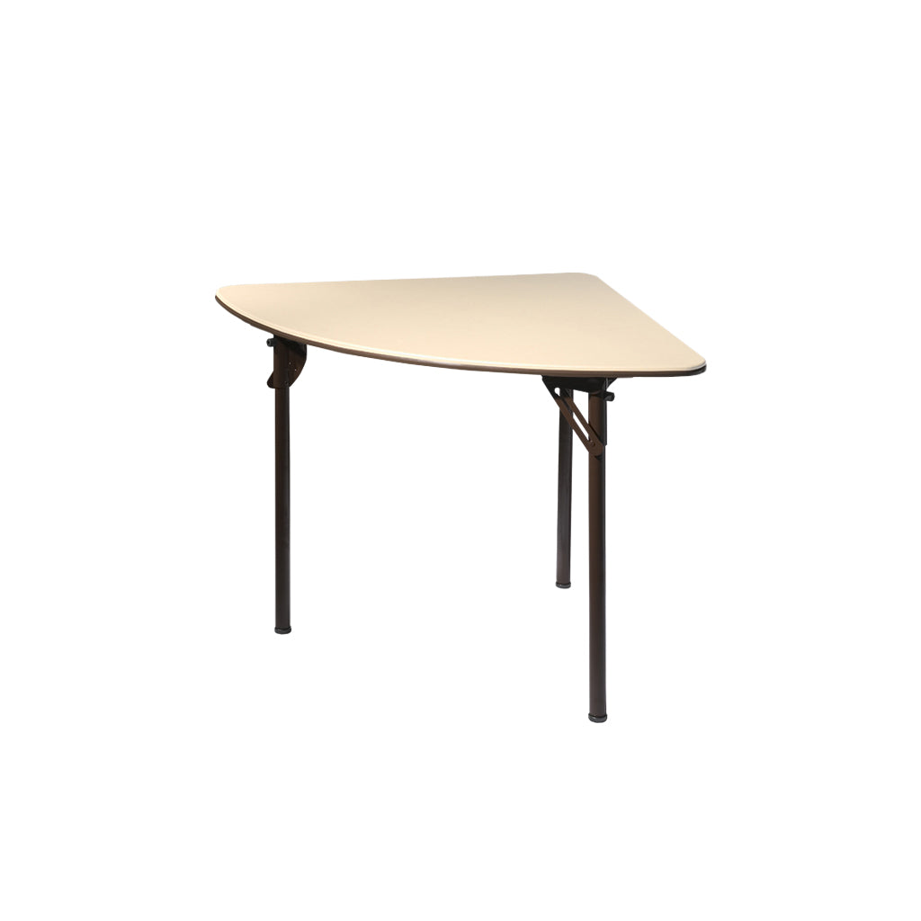 "MityLite ABS Plastic 36"" Quarter Round Folding Table"