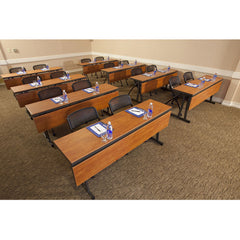 "Reveal Duo 30""x96"" Rectangular Table Conference Meeting"