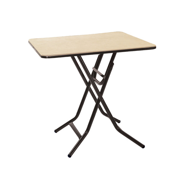 "MityLite ABS Plastic 30""x30"" Square Table w/ Xpediter Folding Leg"