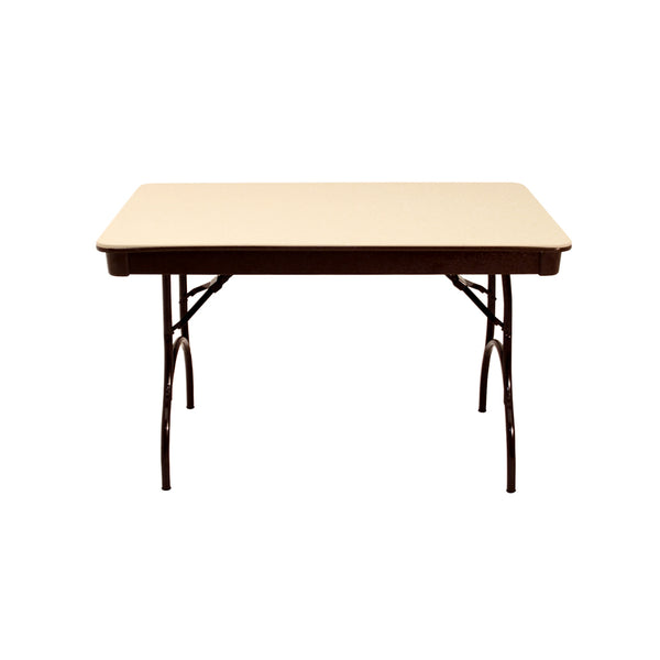 "MityLite ABS Plastic 30""x48"" Folding Table - Beige"