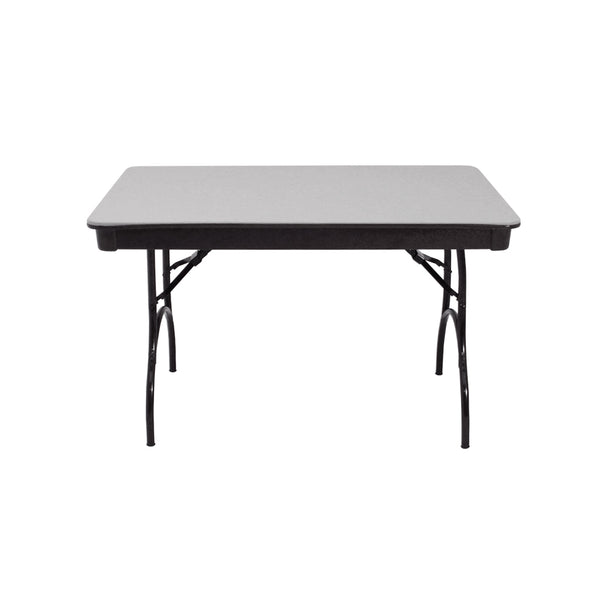 "MityLite ABS Plastic 30""x48"" Folding Table - Gray"