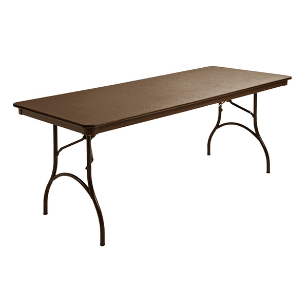 "MityLite ABS Plastic 30""x72"" Folding Table"