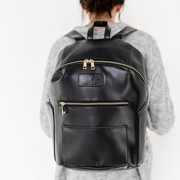Raven Black Backpack