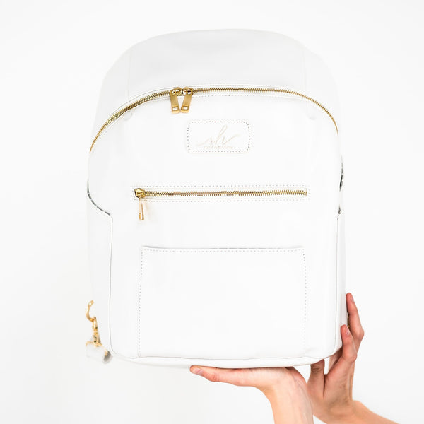 Pearl White Backpack