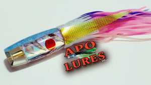 "9"" Apo Lures Hapa (Invert) Ice Blue"