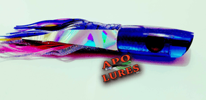 "9"" Apo Lures Blue Pearl Blues Scoop"