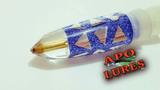 "7"" Apo Lures Ice Blue Cracked Glass Bullet (Naked)"
