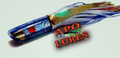 "9"" Apo Lures Ice Blue Pearl (Jetted) Scoop"